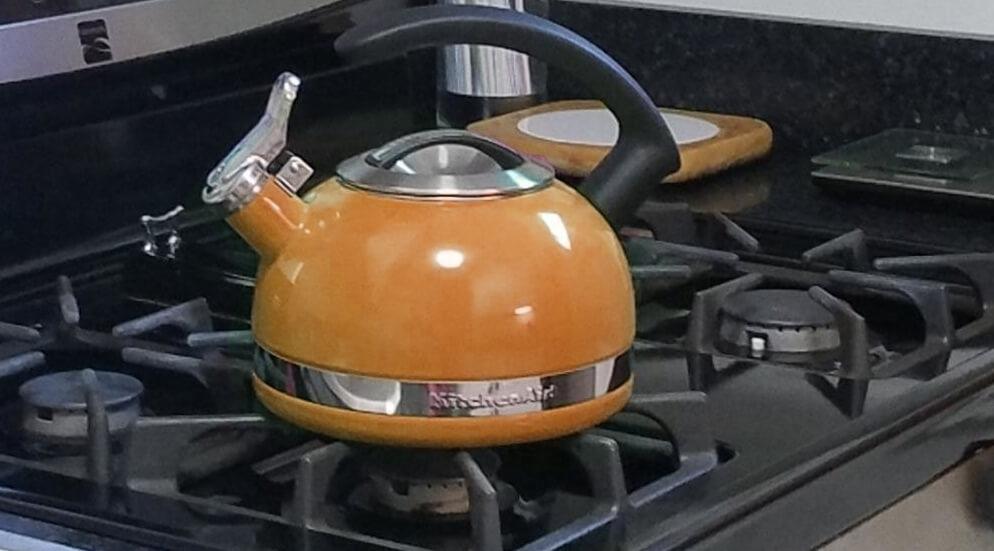 Kettle Boiling Water